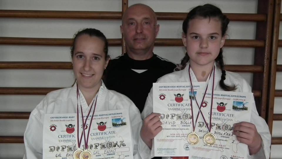 Karate: aranyérmek Szerbiából