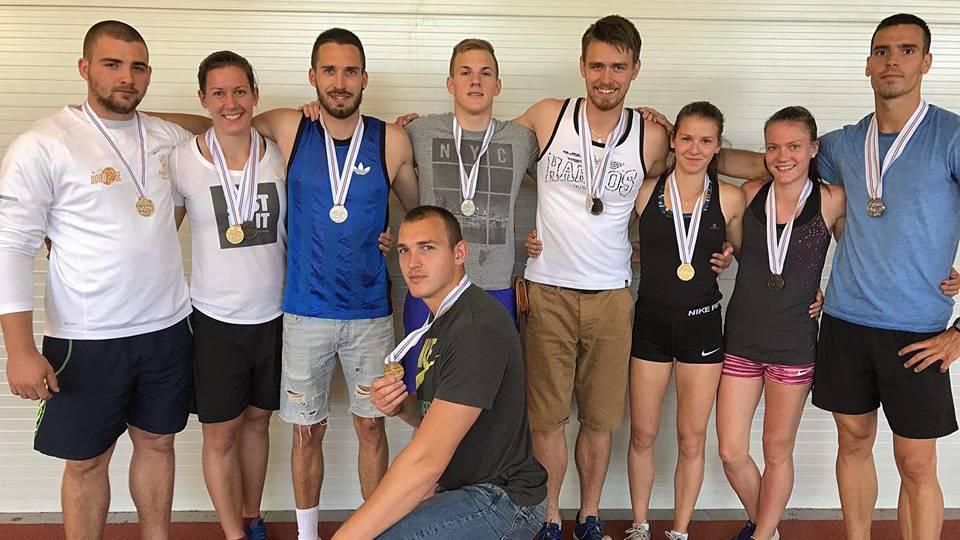 A hétvégén rendezték meg Magyarország egyetemi-főiskolai atlétikai bajnokságát (MEFOB) Miskolcon. A szombathelyi egyetemisták a Dobó SE, a Haladás VSE és a SzoEse színeiben termelték a színesfémeket.