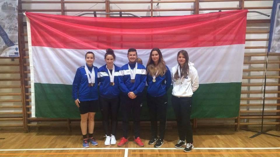 Szép szombathelyi eredmények születtek a veszprémi tollaslabda egyetemi bajnokságon