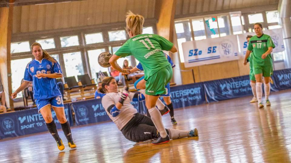 Parádés játékkal kirukkolva, hazai környezetben nyerték meg a Magyar Egyetemi és Főiskolai Bajnokságot a férfi és női futsalosok.